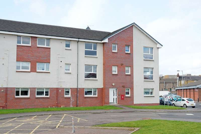 2 Bedrooms Penthouse Flat for sale in Strathbeg Court, Airdrie, North Lanarkshire, ML6 0AE