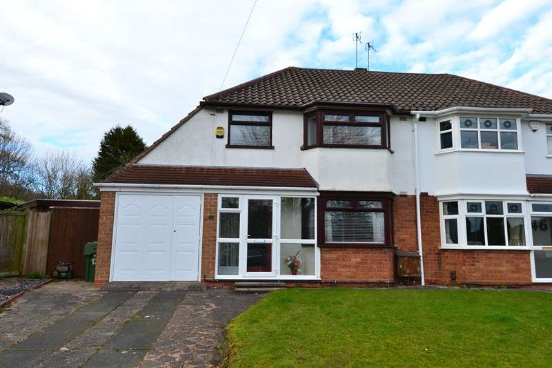 3 Bedrooms Semi Detached House for sale in Grange Crescent, Rubery, Birmingham