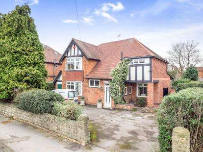 4 Bedrooms Detached House for sale in Davies Road, West Bridgford, Nottingham, Nottinghamshire