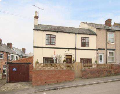 3 Bedrooms End Of Terrace House for sale in Wilson Street, Dronfield, Derbyshire