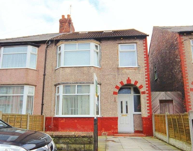 3 Bedrooms Semi Detached House for sale in Rawlins Street, Kensington, Liverpool, L7
