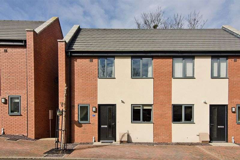 2 Bedrooms Semi Detached House for sale in Cairns Close, Lichfield