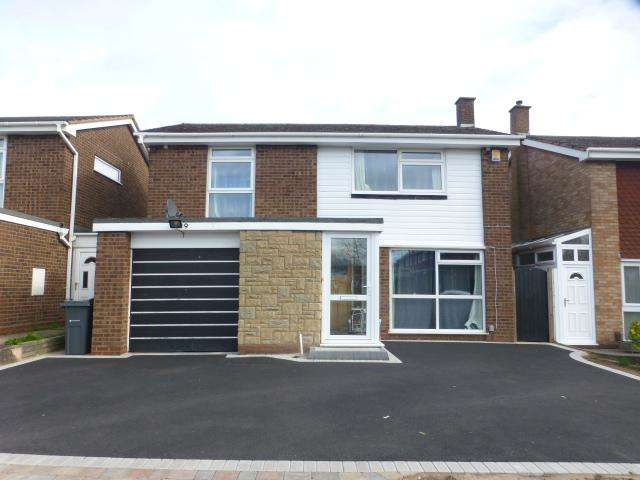 3 Bedrooms Detached House for sale in Porters Croft, Harborne, Birmingham, B17 8RU