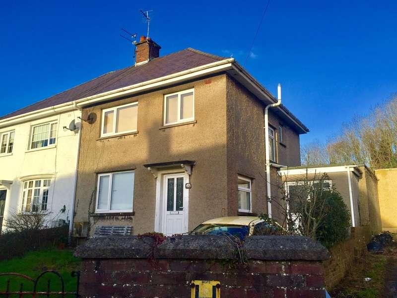 3 Bedrooms Semi Detached House for sale in St James Crescent, Pyle, Bridgend