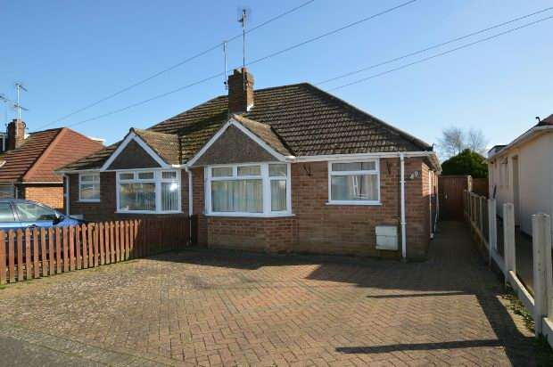 2 Bedrooms Semi Detached Bungalow for sale in Fuller Road, Moulton, Northampton