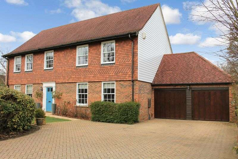 4 Bedrooms Detached House for sale in Birchwood Close, Ifold