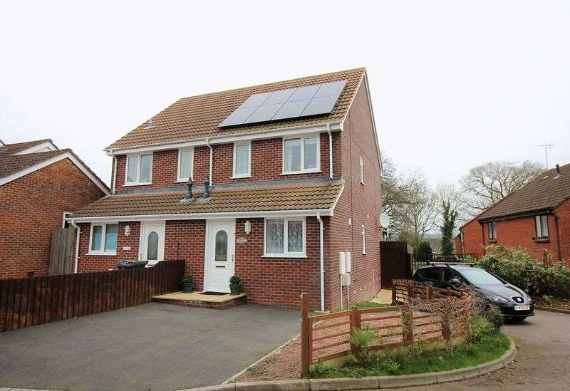 3 Bedrooms Semi Detached House for sale in Bubwith Road, Chard