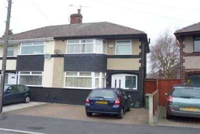 3 Bedrooms Semi Detached House for rent in Fairway Crescent, Bromborough