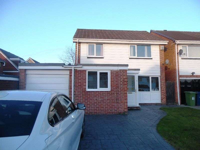 4 Bedrooms Detached House for sale in Barrington Drive, Washington