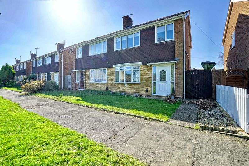 3 Bedrooms Semi Detached House for sale in Sweeting Avenue, St. Neots