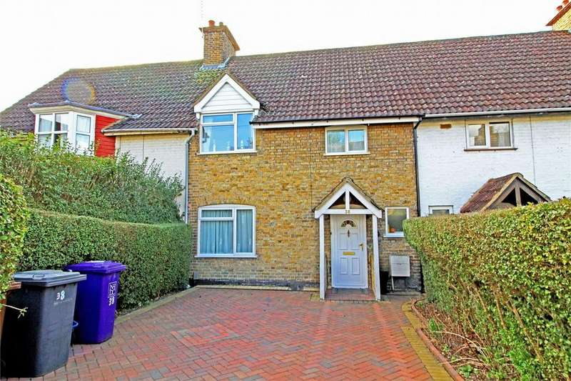 3 Bedrooms Terraced House for sale in Pix Road, Letchworth Garden City, Hertfordshire