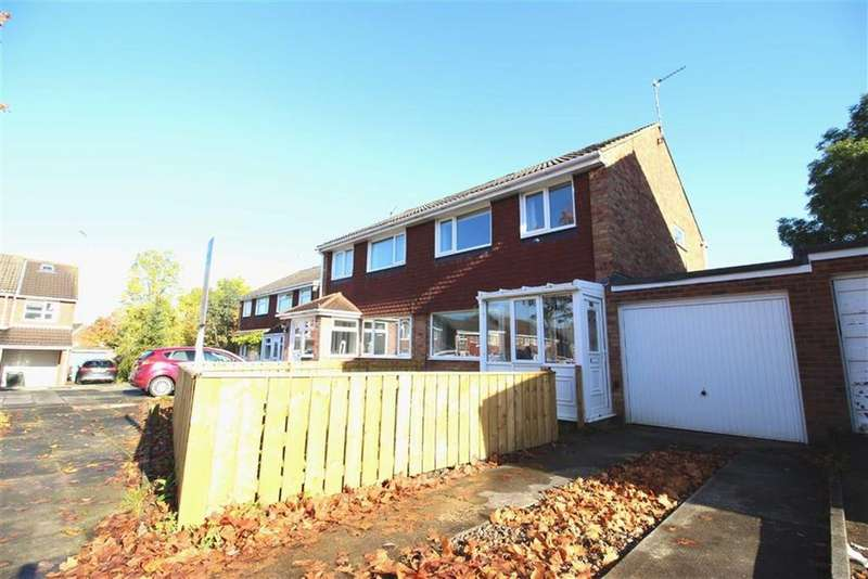3 Bedrooms Semi Detached House for sale in Cowdray Court, Newcastle Upon Tyne, NE3