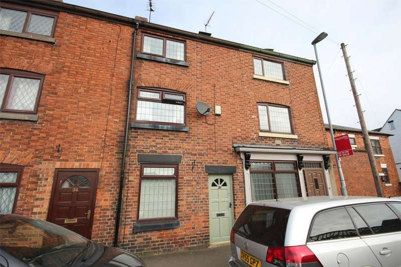 3 Bedrooms Terraced House for sale in High Street, Rocester, Staffordshire