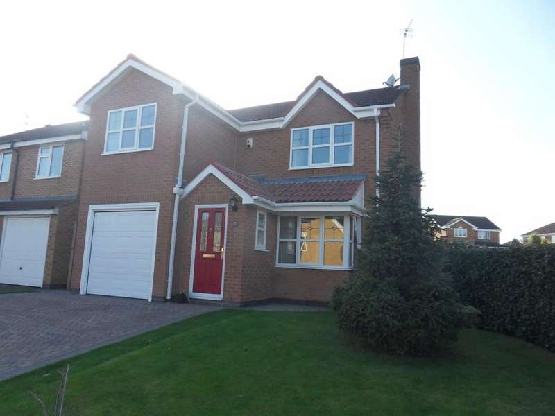 3 Bedrooms Detached House for sale in Aspen Avenue, Loughborough