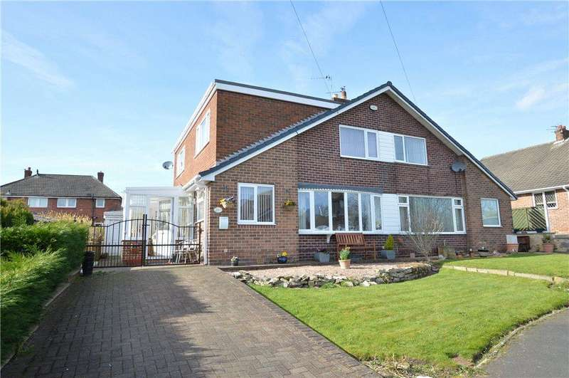 3 Bedrooms Semi Detached Bungalow for sale in Woodside Grove, Allerton Bywater, Castleford, West Yorkshire
