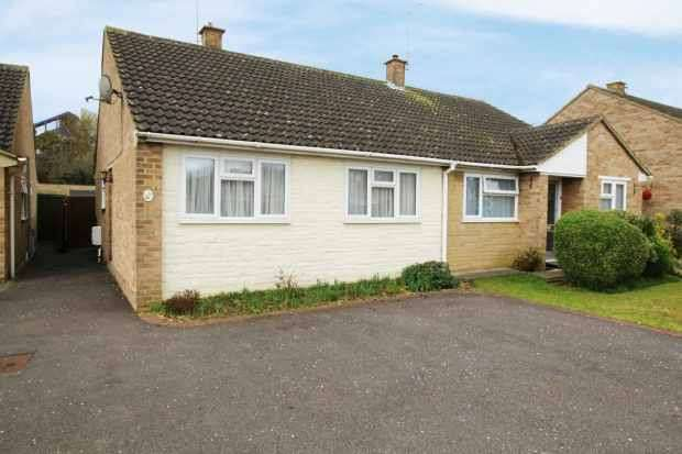 2 Bedrooms Semi Detached Bungalow for sale in Balliol Road, Bicester, Oxfordshire, OX26 4HP