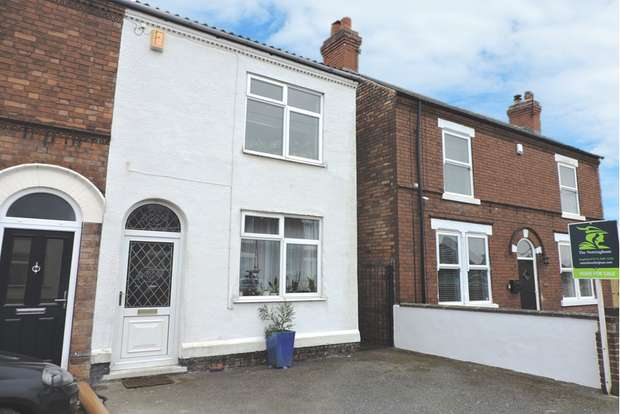 2 Bedrooms Semi Detached House for sale in Ruskin Avenue, Long Eaton, Nottingham, NG10