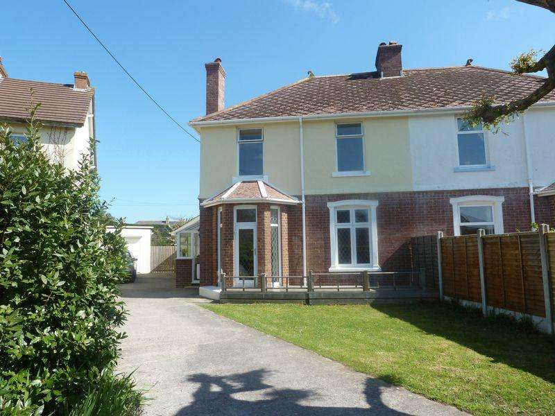 4 Bedrooms Semi Detached House for sale in Chudleigh Road, Kingsteignton