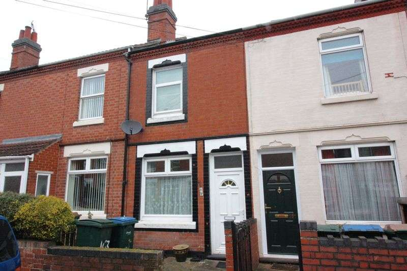 2 Bedrooms Terraced House for sale in Broomfield Road, Earlsdon