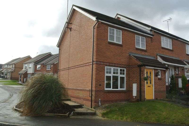 3 Bedrooms House for sale in Fisher Close, Sutton-In-Ashfield, NG17 2AA