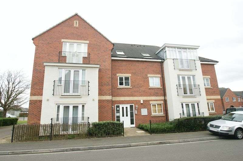 2 Bedrooms Flat for sale in Edison Way, Arnold