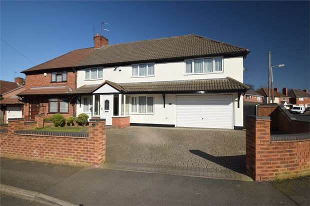 5 Bedrooms Semi Detached House for sale in Alexandra Crescent, WEST BROMWICH, West Midlands