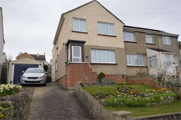 4 Bedrooms Semi Detached House for sale in Oakland Road, Newton Abbot, Devon. TQ12 4EF