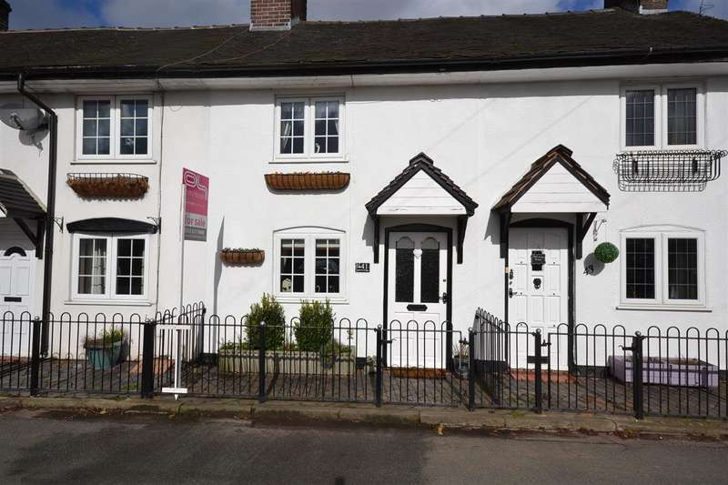 1 Bedroom Terraced House for sale in Queens Row Cottages, Longton Road, Barlaston, Stoke-on-Trent