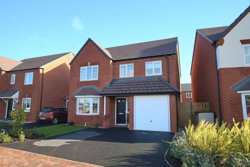 4 Bedrooms Detached House for sale in Osborne Park, Gnosall, Stafford
