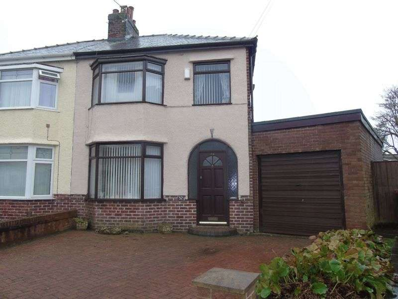 3 Bedrooms Semi Detached House for sale in Derwent Avenue, Prescot