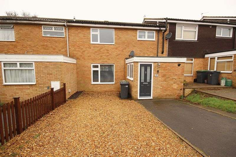 3 Bedrooms Terraced House for sale in Becketts Close, Maulden