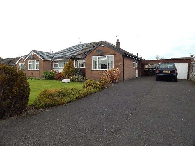 3 Bedrooms Semi Detached Bungalow for sale in Crossfield, Hutton, Preston.