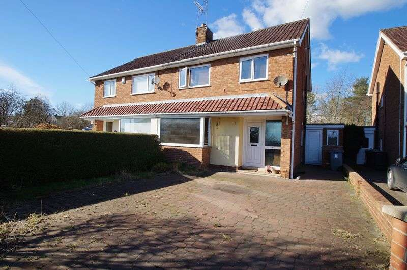 3 Bedrooms Semi Detached House for sale in Leesfield Gardens, Meadowfield