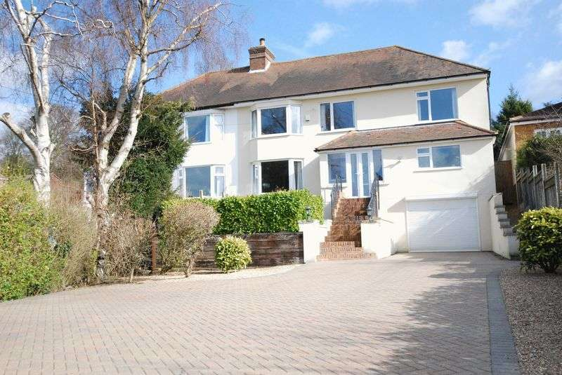 4 Bedrooms Semi Detached House for sale in Old London Road, Sevenoaks