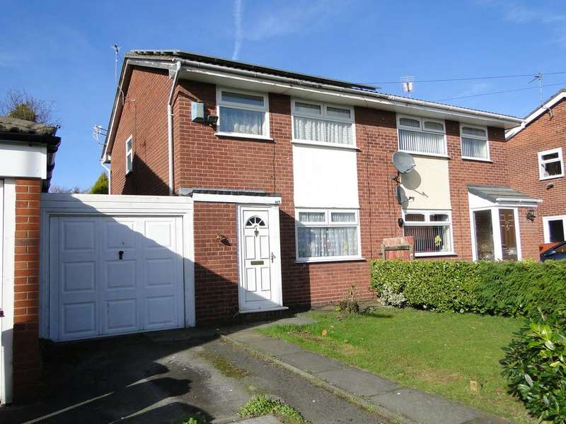 3 Bedrooms Semi Detached House for sale in Haselmere, Whiston L35