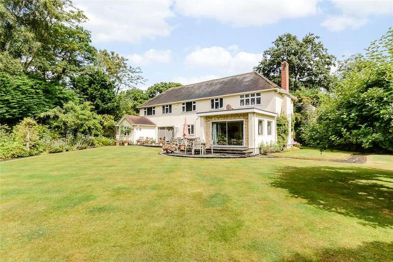 5 Bedrooms Detached House for sale in St. Leonards Hill, Windsor, Berkshire