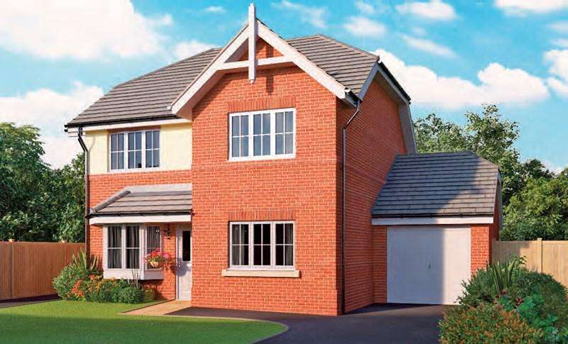 4 Bedrooms Detached House for sale in Windsor Road, Andover