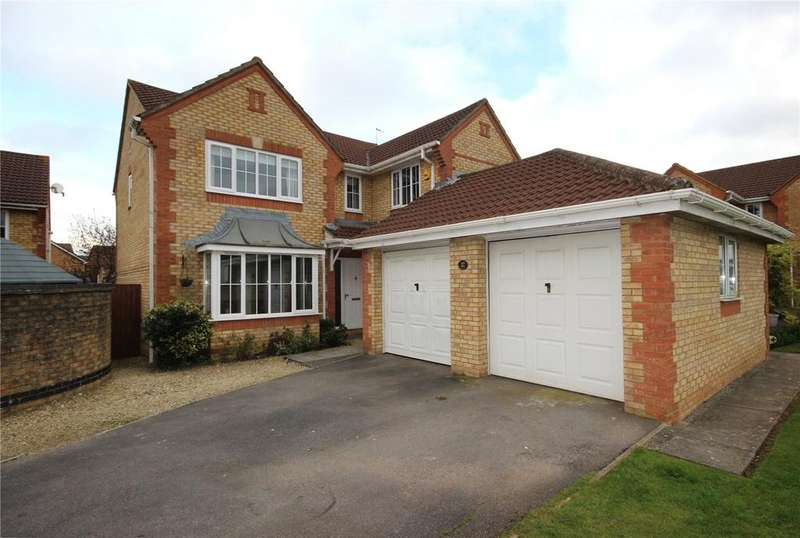 4 Bedrooms Detached House for sale in Bakers Ground, Stoke Gifford, Bristol, BS34