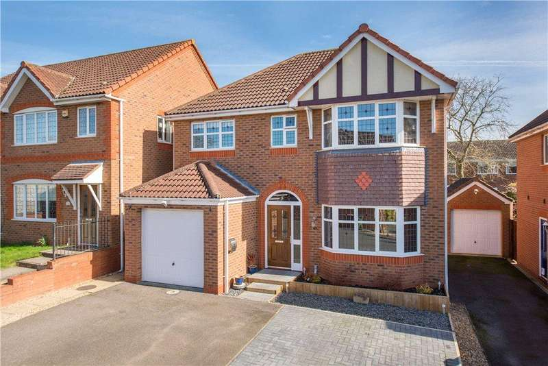 4 Bedrooms Detached House for sale in Hazelden Close, Wollaston, Northamptonshire