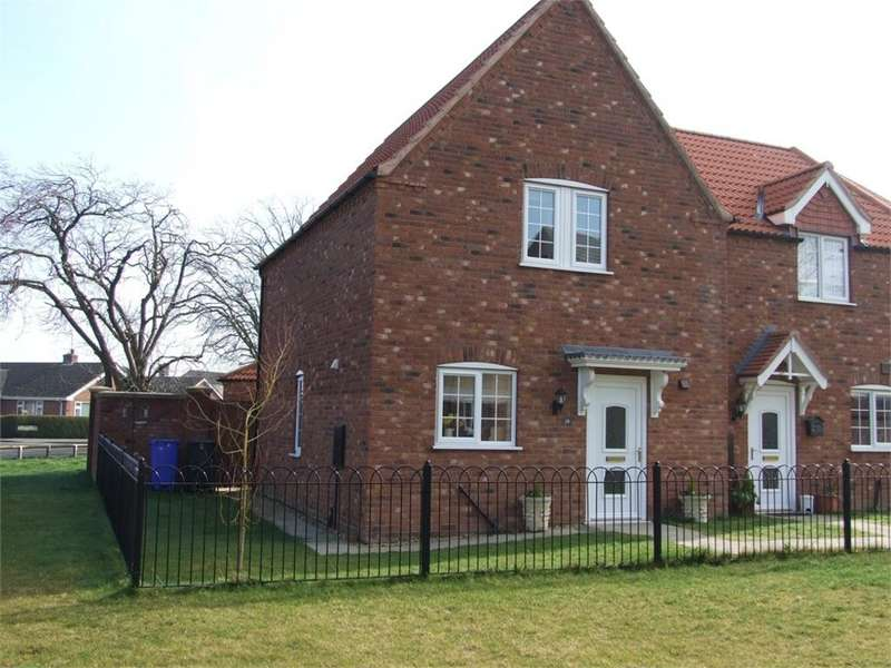 3 Bedrooms End Of Terrace House for sale in Lime Walk, Old Leake, Boston, Lincolnshire
