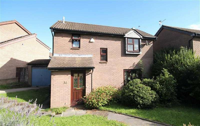 3 Bedrooms Detached House for sale in Beale Close, Danescourt, Cardiff