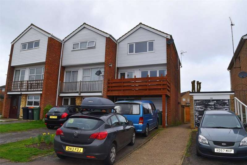 3 Bedrooms End Of Terrace House for sale in Bideford Green, Linslade