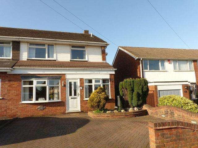 3 Bedrooms Semi Detached House for sale in Oakwood Drive,Streetly,Sutton Coldfield