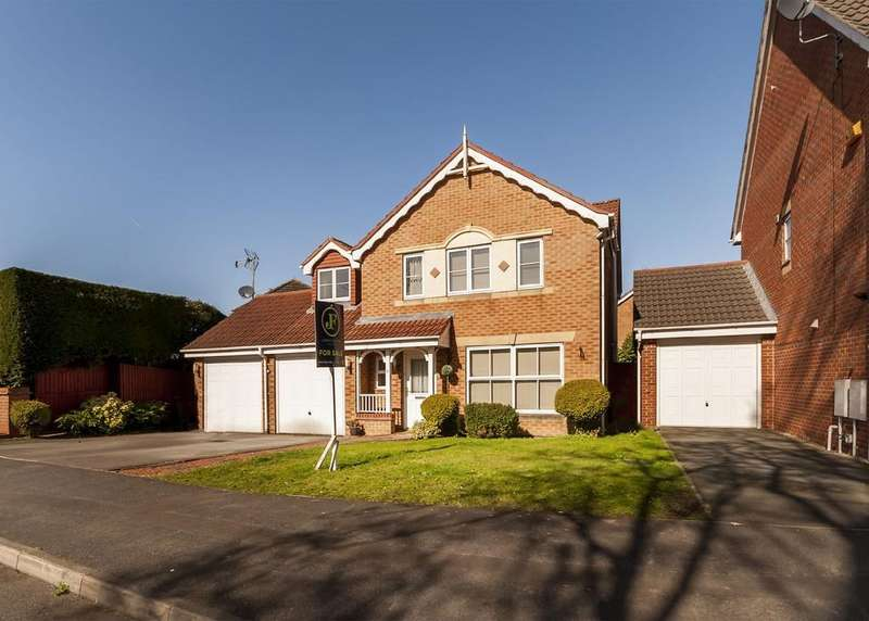 5 Bedrooms Detached House for sale in Hartill Close, Chilwell