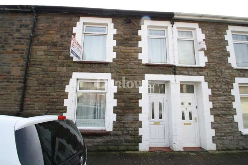 3 Bedrooms Terraced House for sale in Conway Rd, Cwmparc