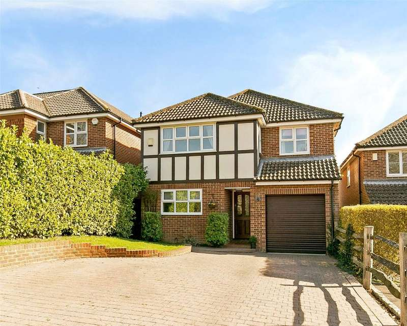 4 Bedrooms Detached House for sale in Childsbridge Lane, Seal, Sevenoaks, Kent, TN15
