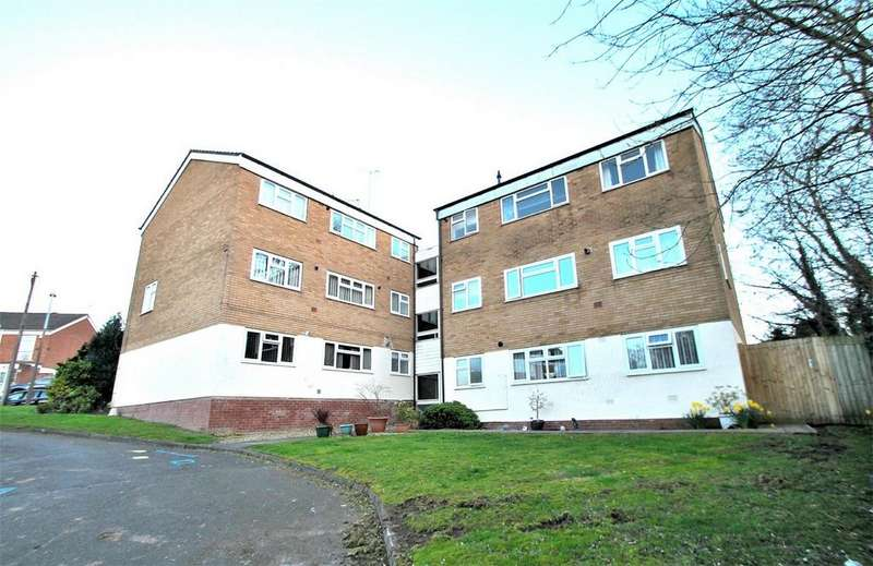 2 Bedrooms Flat for sale in Princess Crescent, HALESOWEN, West Midlands