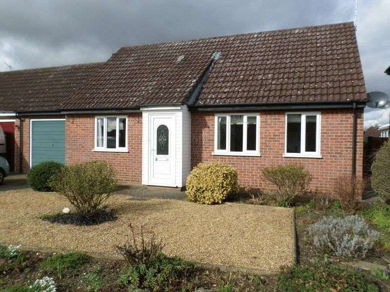 2 Bedrooms Detached Bungalow for sale in Edinburgh Close, Watton, Thetford