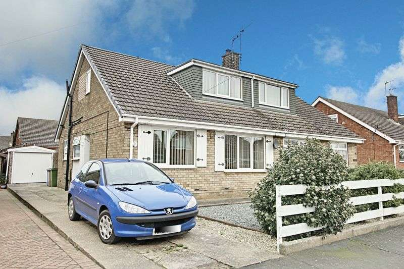 3 Bedrooms Semi Detached Bungalow for sale in Waudby Garth Road, Keyingham