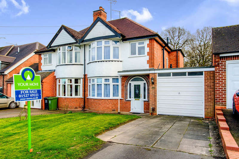 3 Bedrooms Semi Detached House for sale in Bromsgrove Road, Redditch, B97